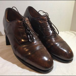 Vtg. Johnston & Murphy Optima Oxford Shoes